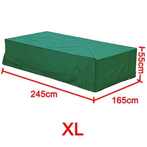 Yahee365 Schutzhülle Abdeckhaube Abdeckung für Gartenmöbel Sitzgruppe 245x165x55cm Wasserdichte günstig kaufen