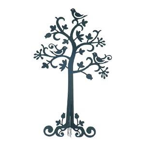 Stand porta gioielli sass belle in metallo a forma di - Porta orecchini ikea ...
