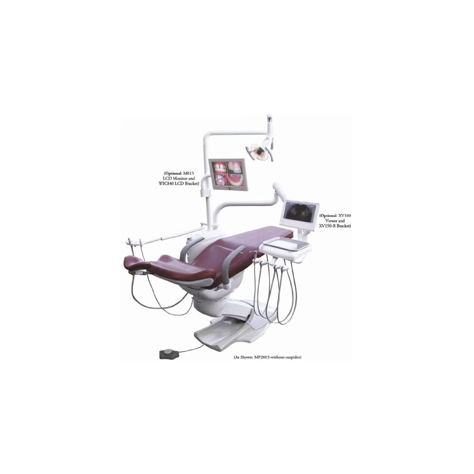 Operatory Chair Package with Cuspidor   Complete Dental Unit Chair Mounted System