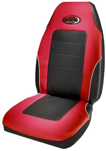 R Racing Stage III Red Vinyl Seat Cover (Red Bucket Seats For Racing compare prices)