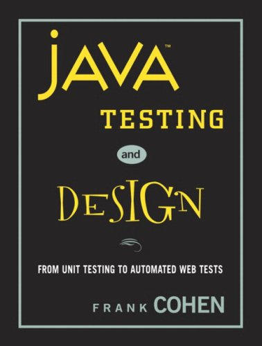 Java Testing and Design
