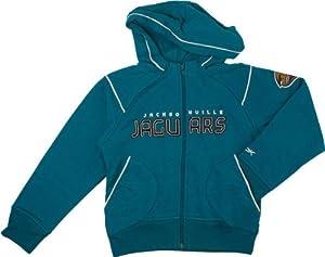 Jacksonville Jaguars Girls 7-16X Shuttle Fleece Hooded Sweatshirt by Reebok