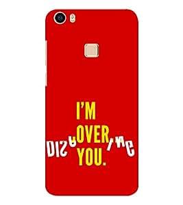 EPICCASE over you Mobile Back Case Cover For Vivo V3 Max (Designer Case)