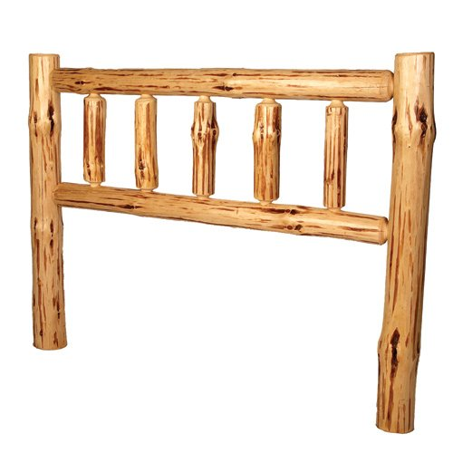 Full Pine Headboard - Log Furniture Kit
