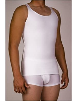 Mens Microfiber Compression Tank 3-Pack