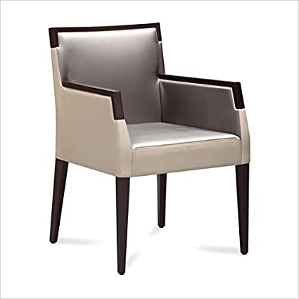 Domitalia Ariel-Pi Armchair in Wenge and Taffy Grey