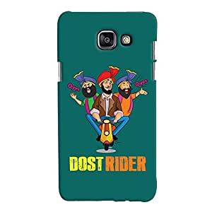 ColourCrust Samsung Galaxy A5 A510 (2016 Edition) Mobile Phone Back Cover With Dost Rider Quirky - Durable Matte Finish Hard Plastic Slim Case