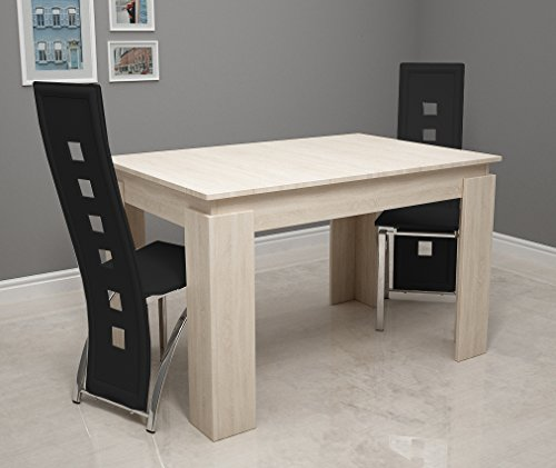 vcm esszimmertisch vikosa 120 cm sonoma eiche com forafrica. Black Bedroom Furniture Sets. Home Design Ideas