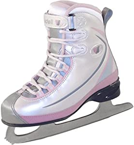 Riedell Ice skates 615 Lace Girls Pink by Riedell