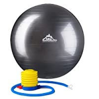 2000lbs Static Strength Exercise Stability Ball with Pump
