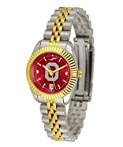 Ohio State University Buckeyes Ladies Gold Dress Watch