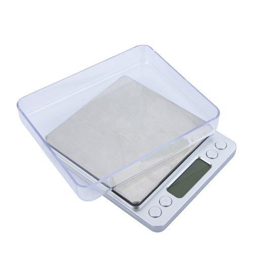 Kingzer Balance numérique portable pour bijoux 500 g 0,01 g