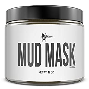 Dead Sea Mud Mask, 12 oz./340g | All Natural Facial & Skin Treatment, Treats Acne, Reduces Wrinkles, Eliminates Cellulite | MADE IN THE USA