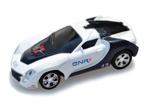 My Funky Planet Toyatar - 1:67 - RC Mini Racing Car, Black/White