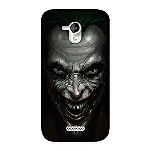 Enticing Mad face Multicolor Back Case Cover for Micromax Canvas HD A116