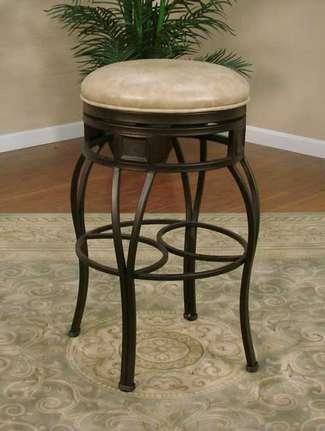 American Heritage Capri Wheat 30&quot; Backless Bar Stool