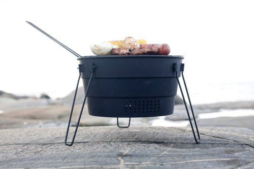 Pop Up Telescoping Portable Barbecue Grill