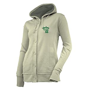 NCAA Michigan State Spartans Ladies Chunky Cable Hoodie by Ouray Sportswear