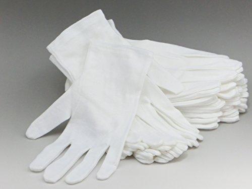 綿 100% コットン 手袋 12双組 S サイズ 女性向け
