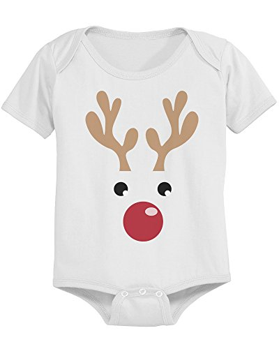 Cute Rudolph Face Cotton Snap-on