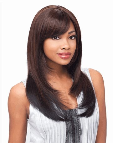 Sensationnel Synthetic Hair Empress Lace Front Wig - Bree Color 1