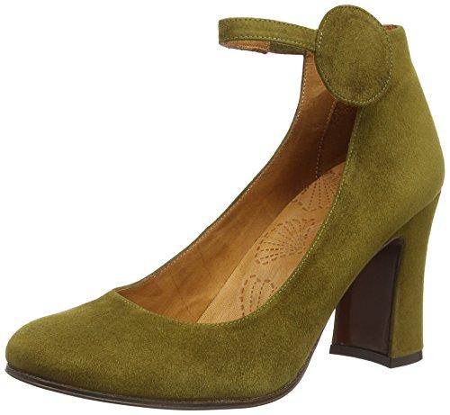 Chie Mihara giga, Decolleté con cinturino alla caviglia donna, Verde (Grün (ante oliva)), 36