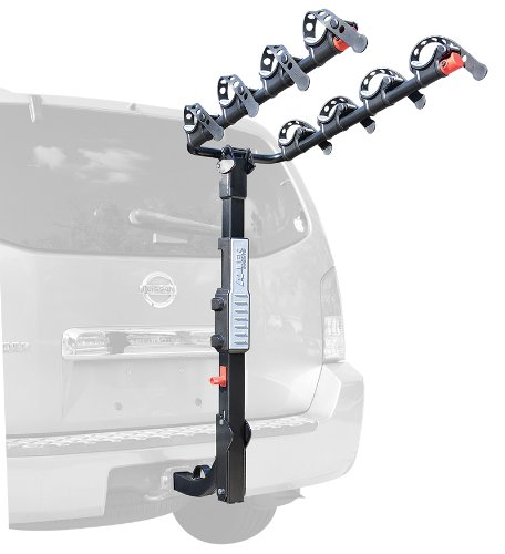 Allen Sports Premier Hitch Mounted 4-Bike Carrier front-84086