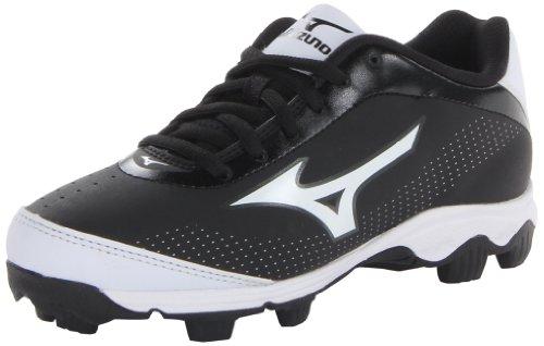 Mizuno Youth Franchise 7 Baseball Cleat ,Black/White,13 M US