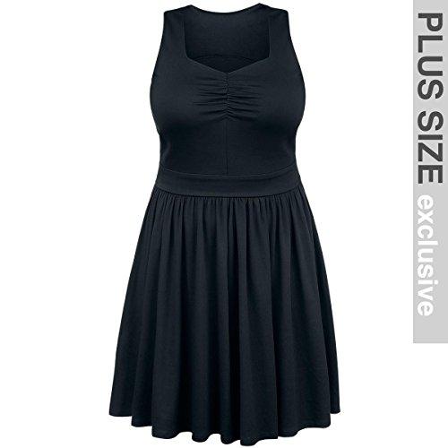 Black Premium by EMP Jersey Dress Abito nero 3XL