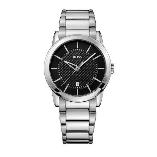 Hugo Boss 1512622 - Reloj analógico de mujer de cuarzo con correa de acero inoxidable plateada