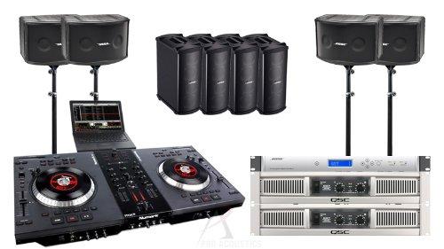bose dj speakers. bose dj sound system with 802 speakers numark ns7 controller designed by proacoustics ® dj i