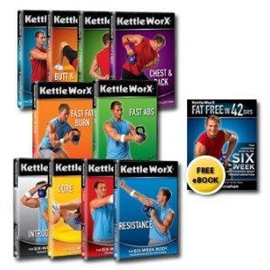 Kettleworx Ultra 10 DVD set - Six Week Body Transformation ...