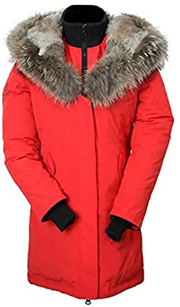 Amazon.com: Arctic Residents Women's Down Filled Coat, Red