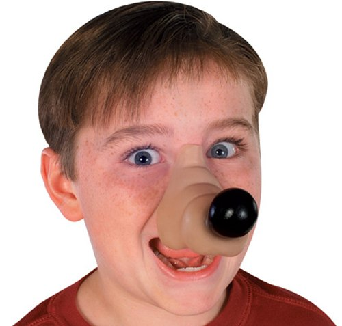 Rubies Rufus Dog Nose Costume Accessory
