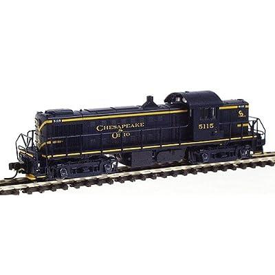 Chesapeake & Ohio Alco RS-1 Locomotive - Powered, C&O #5115 (N Scale