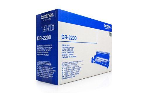 Tambour d'origine pour imprimantes brother hL 2270 dW-/ de tambour dR - 2200: 12 000 pages (convient pour imprimante brother dCP-7055, brother brother dCP-7055 w dCP-7057 dCP-7060 d dCP-7060 n brother brother brother, dCP-7065 dN, dCP-7070 dW, fax 2840 im
