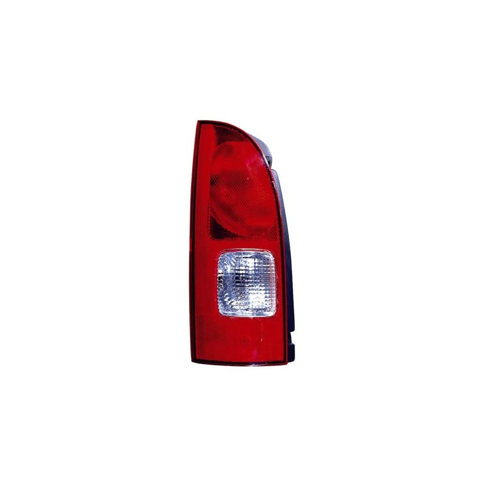 Nissan Quest Replacement Tail Light Assembly   Driver Side