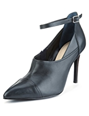 Autograph Leather Ankle Strap Shoe Boots with Insolia®