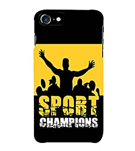 Fiobs Champions Sports Phone Back Case Cover for Apple iPhone 7 (4.7 Inches)