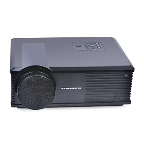 SODIAL(R)Projecteur Home Cinema D'affaires Hd Lcd 3200lm 1280x800 avec Hdmi vga TV AV USB Ph580