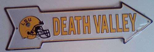 LSU Death Valley Metal Arrow Sign at Amazon.com