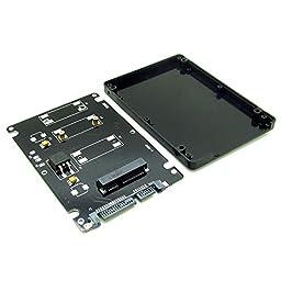 Mini PCI-E mSATA SSD to 2.5\