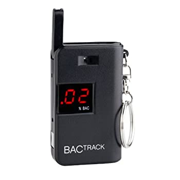 The BACtrack Keychain Breathalyzer is a revolutionary portable breathalyzer that takes size and portability to the next level. The BACtrack Keychain Breathalyzer is a fully functional breath alcohol tester with an internal alcohol sensor, folding bre...