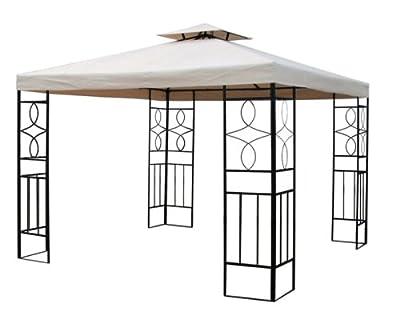 WASSERDICHT Pavillondach Beige 2,98x2,98m Dach Pavillon Pavillion NEU WASSERFEST von hot-stock auf Gartenmöbel von Du und Dein Garten