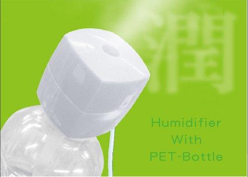 トップランド ボトル加湿器キューブ ホワイト M7060