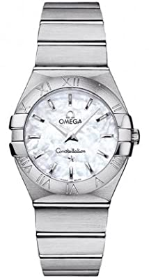 Omega Constellation Brushed Quartz 27mm Women's Watch