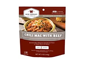 Wise Company Outdoor Chili Macaroni (4.8-Ounce)