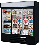 Beverage Air LV66Y-1-B 3 Sliding Glass Door Merchandiser Refrigerator | 70  ....