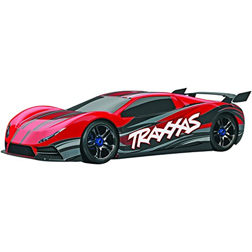 Traxxas 64077 XO-1 AWD Supercar Ready-To-Race Trucks (1/7 Scale), Colors May Vary(Discontinued by manufacturer) (Traxxas Xo 1 Motor compare prices)