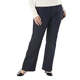 Product Image Women's Plus-Size Merona® Blue Bootcut No-Gap Jeans